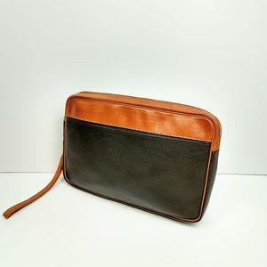 Rare find Kutsuwa lg executive leather pouch!